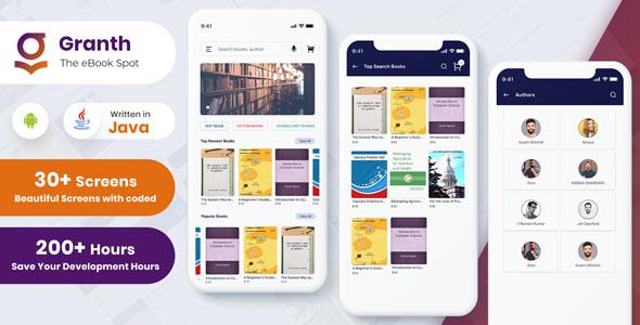 Flutter Ebook App with Admin Panel | Iqonic Design