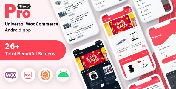 Multipurpose E-commerce Android Full Mobile App + kotlin | Iqonic Design
