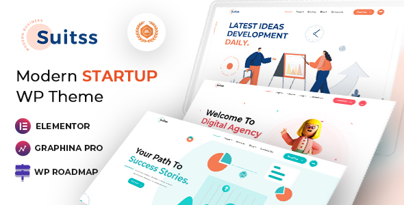 10 Modern Startup Business WordPress Theme For Digital Entrepreneurs suit smallpreview final