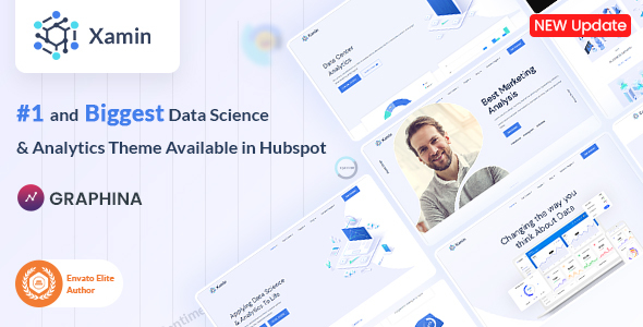 Data Science & Technology HubSpot Theme | Iqonic Design