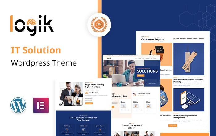 LOGIK | IT Services WordPress Theme  TRENDING: LOGIK | IT Services WordPress Theme 1 wktoLDyTBK0skvgXwpe2fA