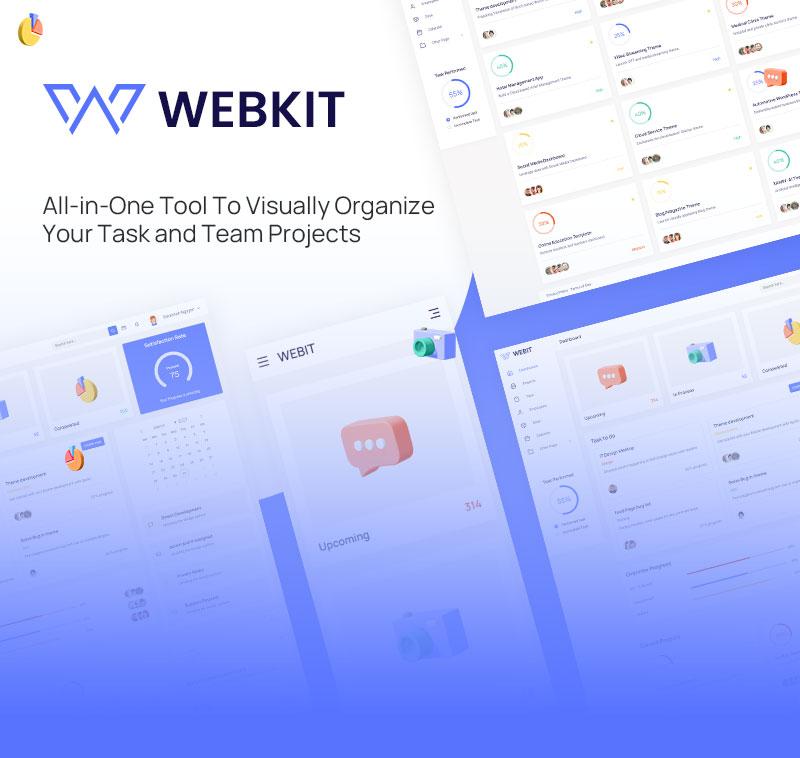 Webkit   free admin template vuejs for project management free admin template html for project management WebKit 01