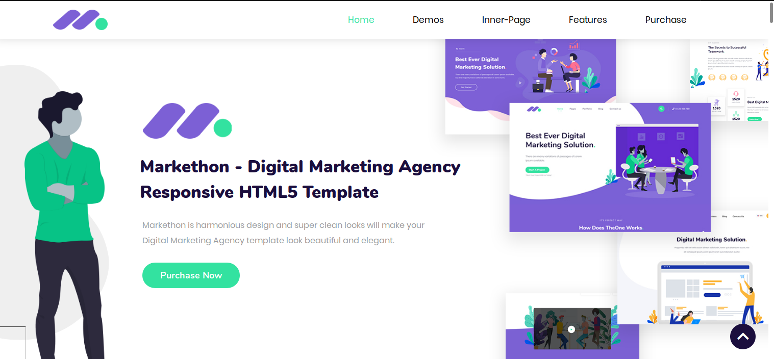 Just Launched: Markethon — Digital Marketing Agency Responsive HTML5 Template  Just Launched: Markethon — Digital Marketing Agency Responsive HTML5 Template 1 UhQdivn5VsdqjVq5lOOuIg