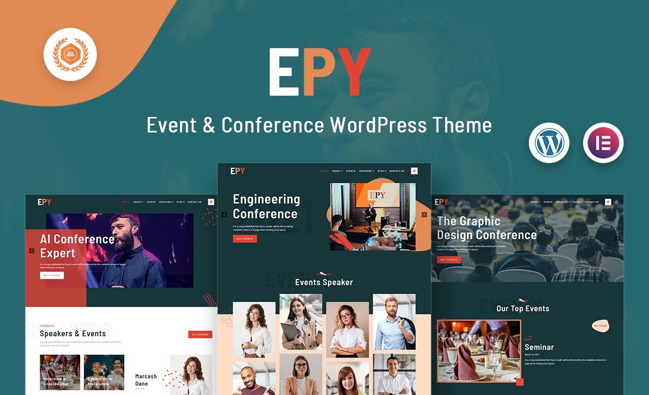 New: EPY — Event & Conference WordPress Theme  New: EPY — Event & Conference WordPress Theme 1 fSFtGYiBd9BjCOCgaljPEw
