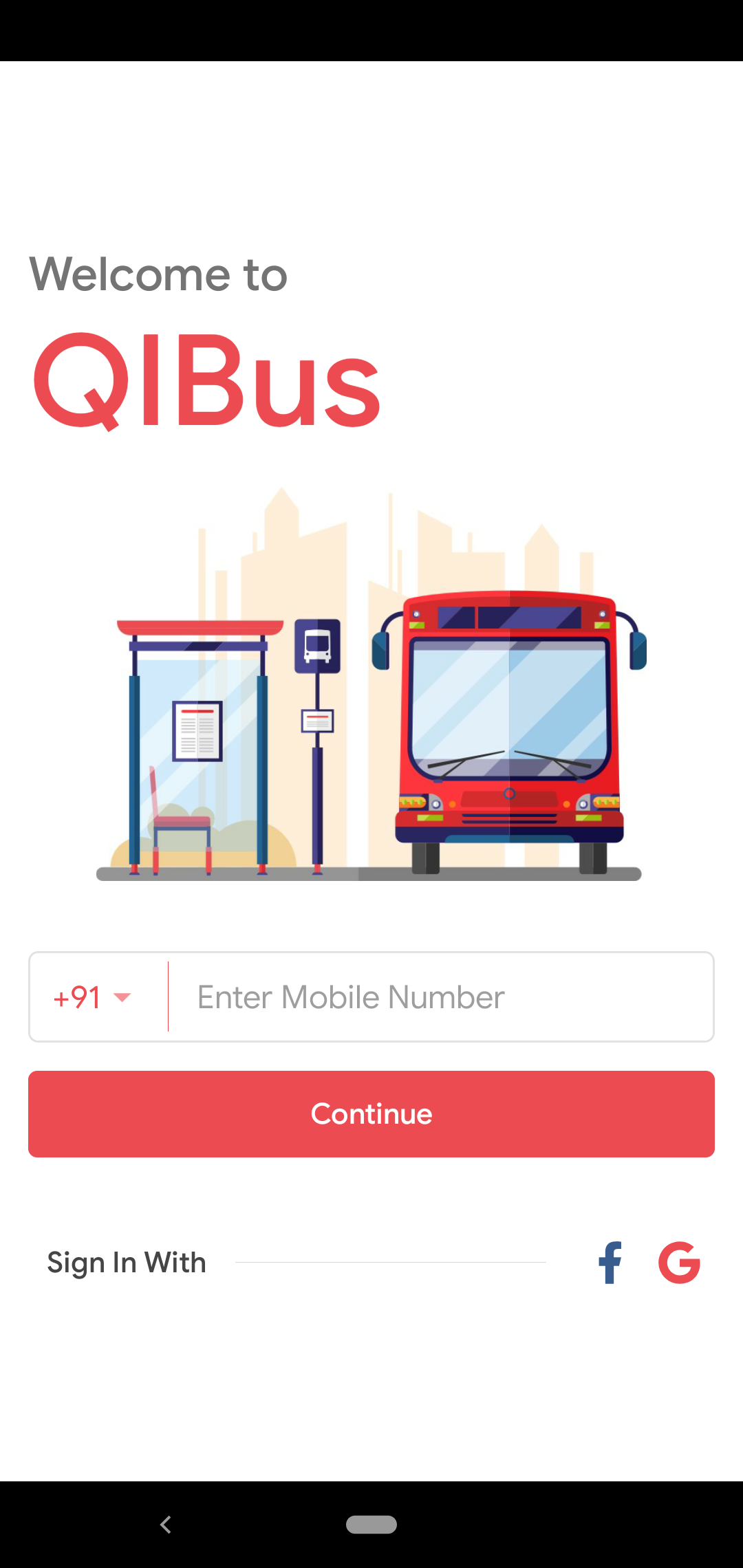 Launched Qibus: A Bus Booking Android & iOS App Template  Launched Qibus: A Bus Booking Android & iOS App Template 2