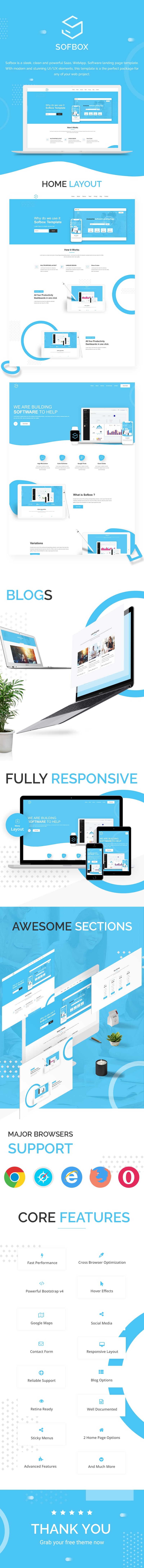 free software landing page html5 template Sofbox Classic SofboxPreview min