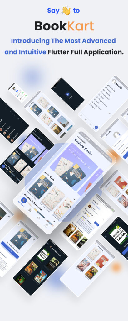Flutter Ebook Reader App For WordPress with WooCommerce | Bookkart | Iqonic Design  Online Retailers Guide To Shopping Cart UI (Must-have elements and examples) image 1 410x1024