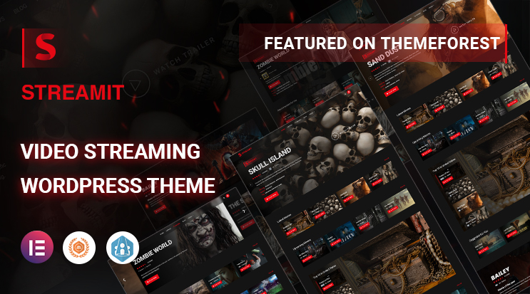 Video Streaming WordPress Theme - RTL | Streamit | Iqonic Design  8 Best Responsive Video Streaming WordPress Themes of 2021 image 17