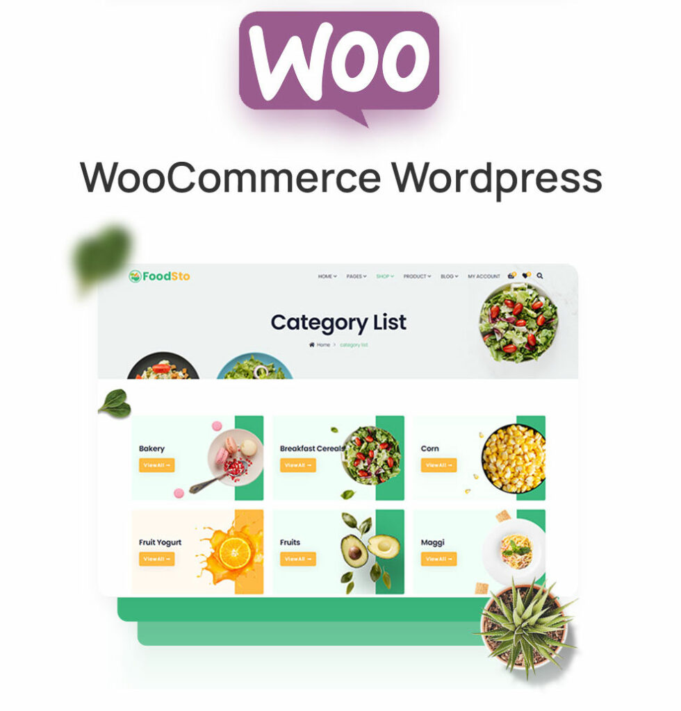 FoodSto - Grocery & Food Store WordPress Theme  How To Transform Your WordPress Into Straight-out eCommerce Store image 3 980x1024