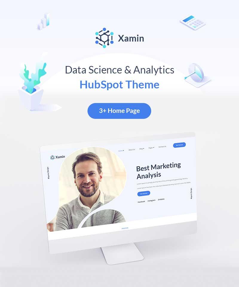 Xamin – Data Science & Technology HubSpot Theme on Themeforest  Xamin – Data Science & Technology HubSpot Theme on Themeforest xaminhome
