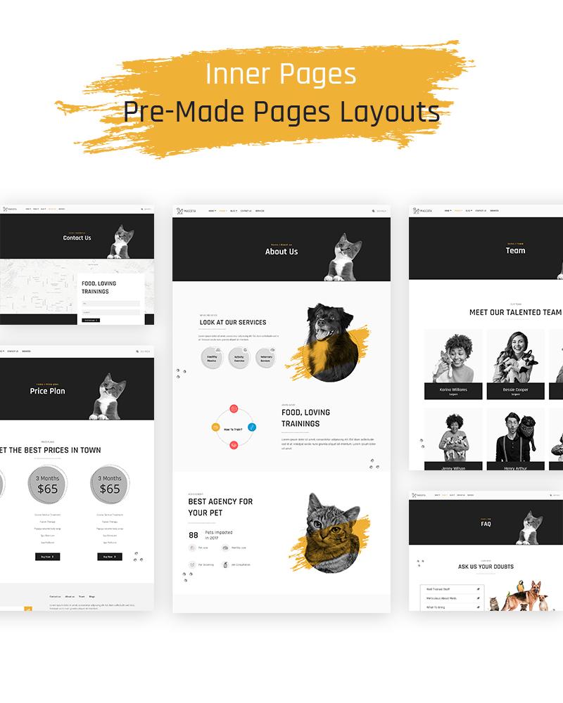 Free WordPress Theme For Petcare | Mascota | Iqonic Design free wordpress theme for petcare Mascota WordPress 03 inner pages 1