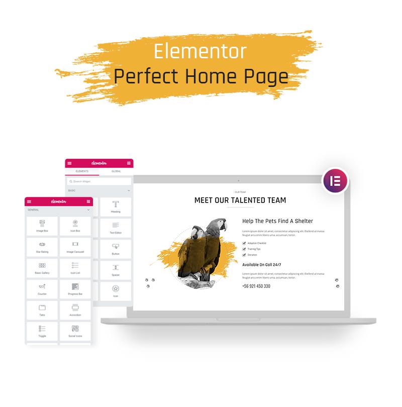 Free WordPress Theme for Petcare | Mascota | Iqonic Design free wordpress theme for petcare Mascota WordPress 05 elementor