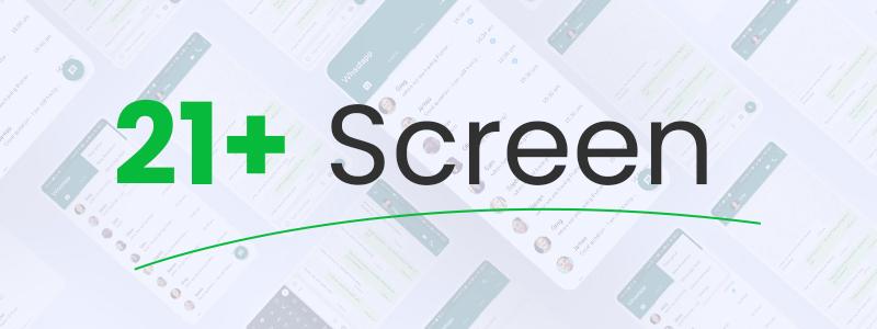 img free whatsapp ui clone flutter Whatschat 21 screen