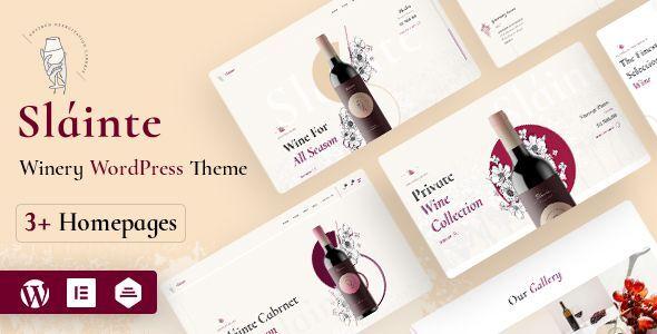 Winery and Wine Store Woocommerce WordPress Theme | Slainte | Iqonic Design
