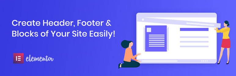 Elementor – Header, Footer Builder  18+ Best Free Elementor Addons for WordPress Compared Elementor Header Footer Builder1