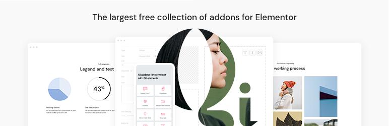 Qi Addons For Elementor  18+ Best Free Elementor Addons for WordPress Compared Qi Addons For Elementor1