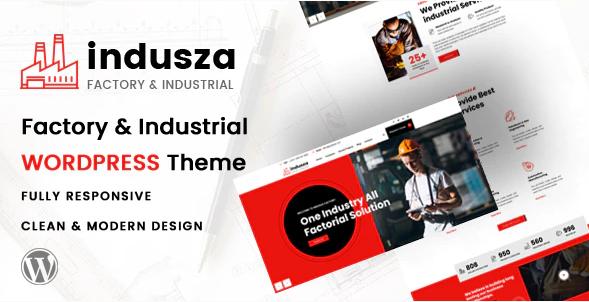 Induza  10+ Best Industry Engineering Factory WordPress Themes to Design Your Perfect Website Screenshot 10 1
