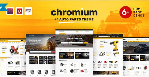 Chromium  12 Best Auto Dealer WordPress Themes For Vehicle Dealership & Service Owners Screenshot 12 min
