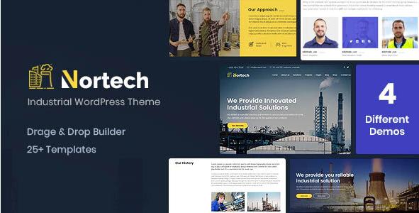 Nortech  10+ Best Industry Engineering Factory WordPress Themes to Design Your Perfect Website Screenshot 3 2