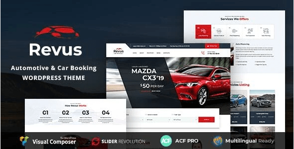 Revus  12 Best Auto Dealer WordPress Themes For Vehicle Dealership & Service Owners Screenshot 3 min 1