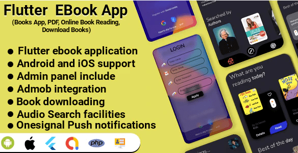 Flutter EBook App   6 Latest eBook Flutter Apps of All Time To Snuff Up During Pandemic eBook Trend 2021 Screenshot 3 min 2
