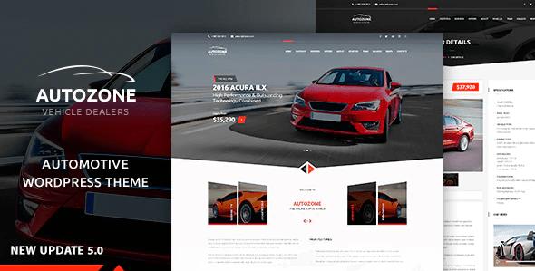 Autozone  12 Best Auto Dealer WordPress Themes For Vehicle Dealership & Service Owners Screenshot 4 min 1