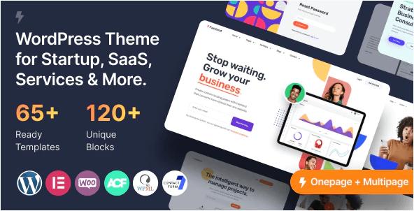 Fastland  10 Modern Startup Business WordPress Themes For Digital Entrepreneurs Screenshot 5 1