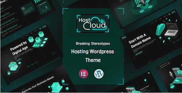 HostCloud  7 Best Cloud Computing, Apps and Server WordPress Theme To Stake On In 2021 Screenshot 5