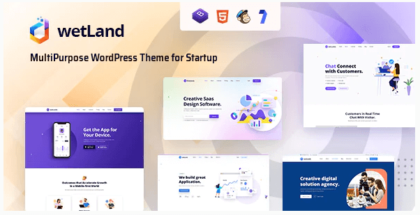 WetLand  10 Modern Startup Business WordPress Themes For Digital Entrepreneurs Screenshot 6 1