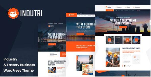 Industri  10+ Best Industry Engineering Factory WordPress Themes to Design Your Perfect Website Screenshot 6 2