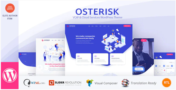 osterisk  7 Best Cloud Computing, Apps and Server WordPress Theme To Stake On In 2021 Screenshot 6