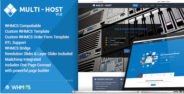 Multi-Host  7 Best Cloud Computing, Apps and Server WordPress Theme To Stake On In 2021 Screenshot 7