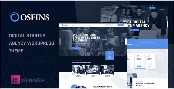Osfins  10 Modern Startup Business WordPress Themes For Digital Entrepreneurs Screenshot 9 1