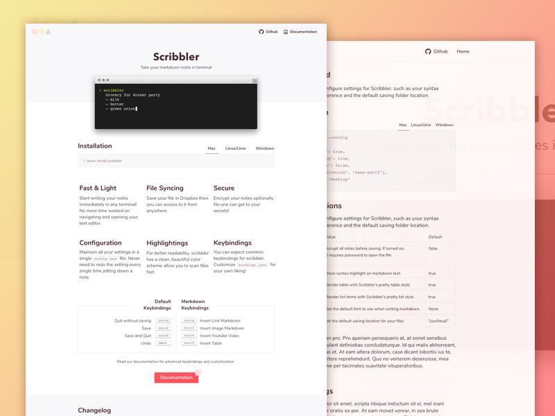 Scribbler  15+ Best Free Responsive Website Templates For Better Mobile User Experience Scribbler