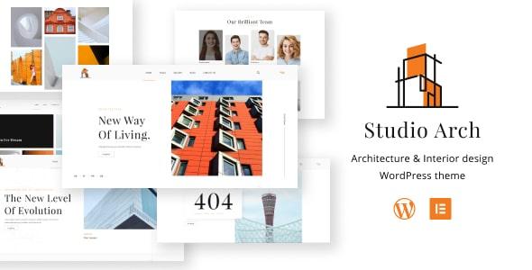 Best Free WordPress theme for Architects | Studio Arch | Iqonic Design