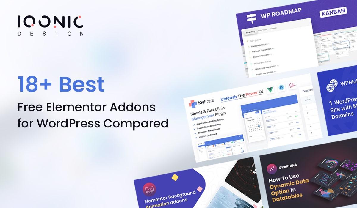 18+ Best Free Elementor Addons for WordPress Compared  18+ Best Free Elementor Addons for WordPress Compared addons 1 min