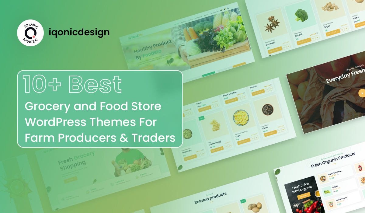10+ Best Grocery and Food Store WordPress Themes For Farm Producers & Traders  10+ Best Grocery and Food Store WordPress Themes For Farm Producers & Traders grocery theme