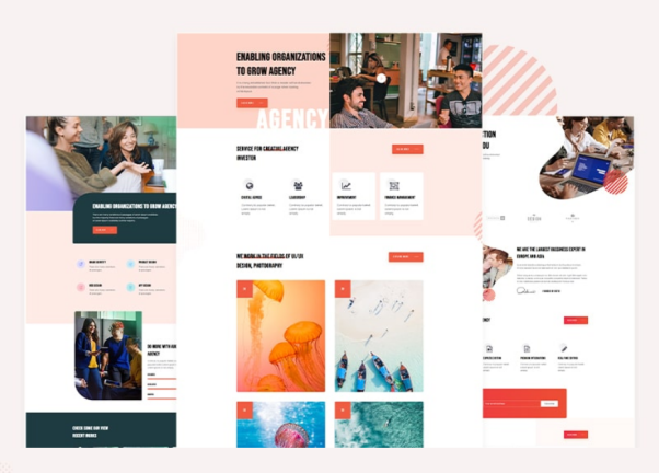 Creative Agency HTML Template Free   Phifi   Iqonic Design  15+ Best Free Responsive Website Templates For Better Mobile User Experience image 1