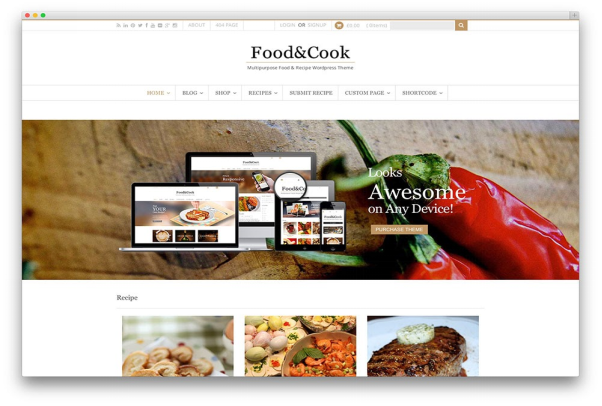 Food & Cook  10+ Best Grocery and Food Store WordPress Themes For Farm Producers & Traders image 12