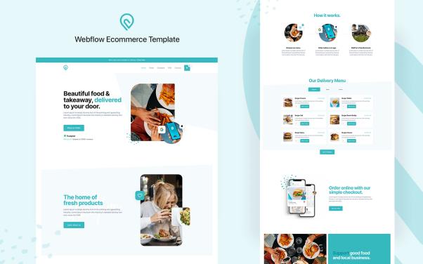 Chomp   Restaurant Website Template  15+ Best Free Responsive Website Templates For Better Mobile User Experience image 3