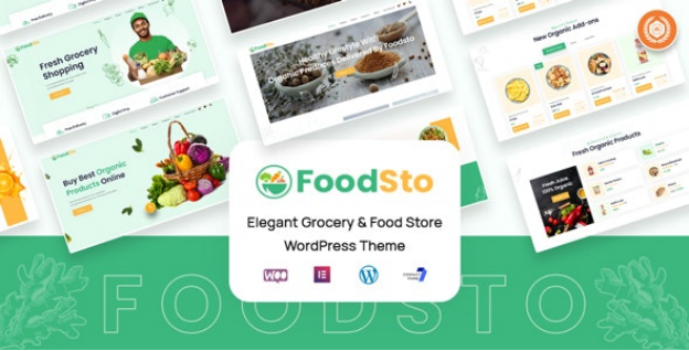 Grocery and Food Store WordPress Theme   Foodsto   Iqonic Design  10+ Best Grocery and Food Store WordPress Themes For Farm Producers & Traders image 7
