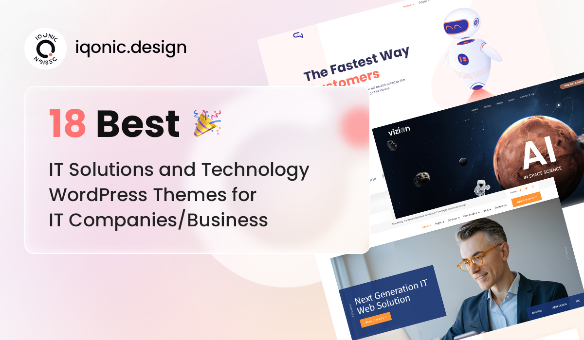 18 Best IT Solutions and Technology WordPress Themes for IT Companies/Business  18 Best IT Solutions and Technology WordPress Themes for IT Companies/Business top 18 Wp Theme 1