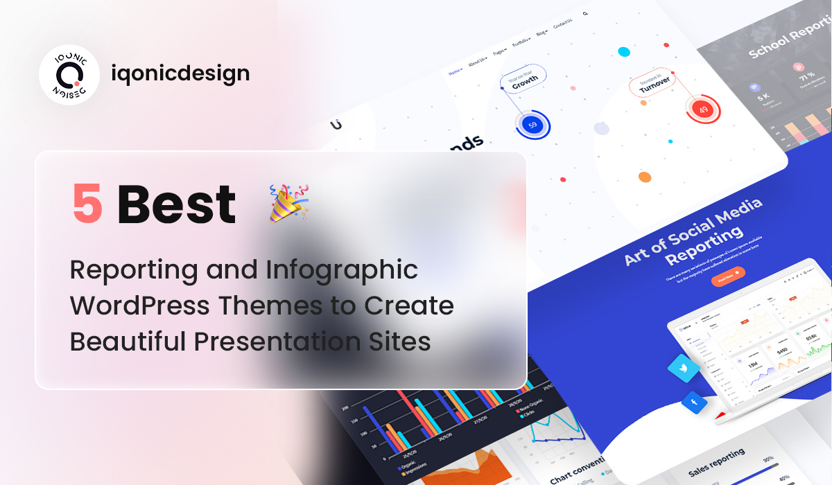 5 Best Reporting and Infographic WordPress Themes to Create Beautiful Presentation Sites  5 Best Reporting and Infographic WordPress Themes to Create Beautiful Presentation Sites top 18 Wp Theme 2