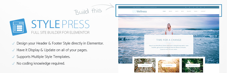 StylePress for Elementor  18+ Best Free Elementor Addons for WordPress Compared tylePress for Elementor1