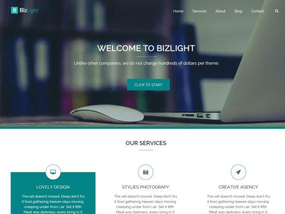 Top 11 Best Free WordPress Themes for Marketing Agency 2021 Bizlight1