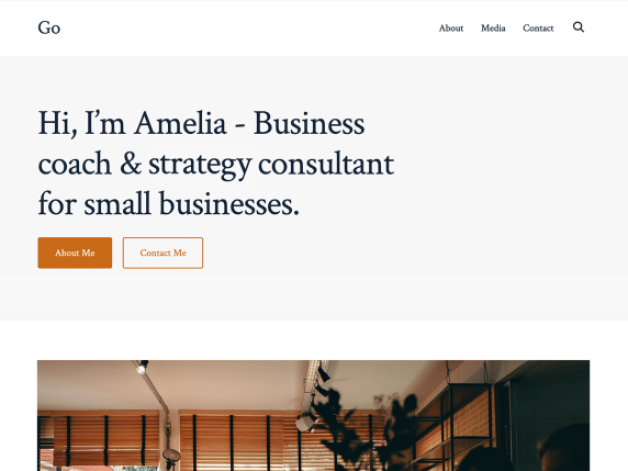 Go  17 Best Free WordPress Themes for Business Consultancy 2021 Go1