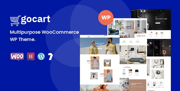 Gocart  15 Best Multipurpose WordPress Themes To Save You Big For Future Projects Gocart1
