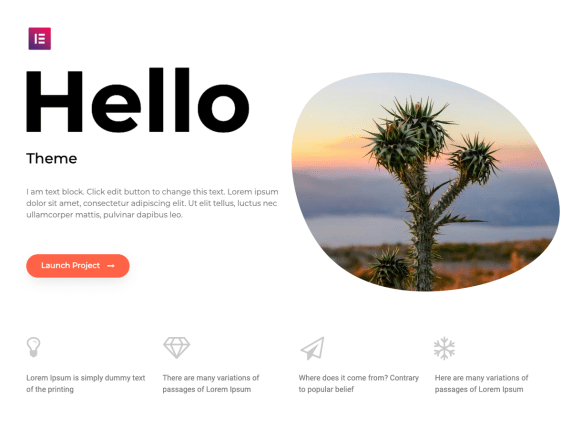 Hello Elementor  17 Best Free WordPress Themes for Business Consultancy 2021 Hello Elementor1