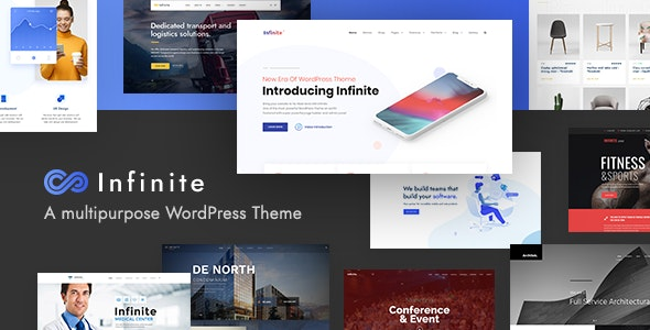 8 Modern and Flexible Event Conference WordPress Themes For Digital Entrepreneurs Infinite1