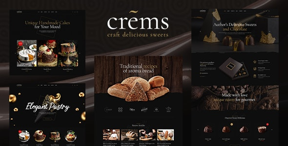 Crems  15 Best WordPress Themes for Cafe to Create A Responsive Restaurant & Cafe Website in 2021 Ontap1 1
